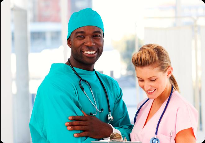 Black American Doctor